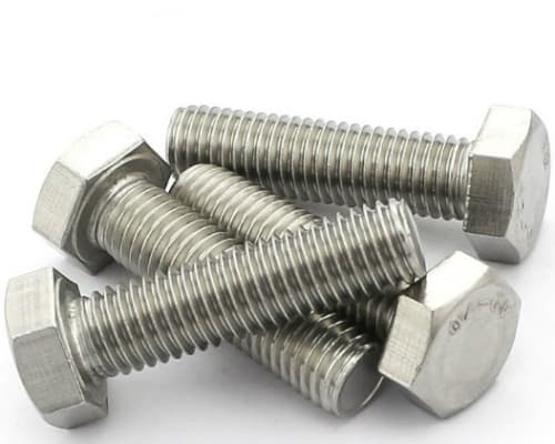 Hexagon heads bolts with full thread, DIN 933 type 1