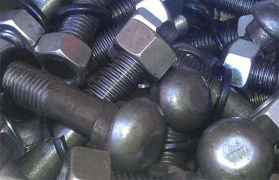 Fishplate bolts